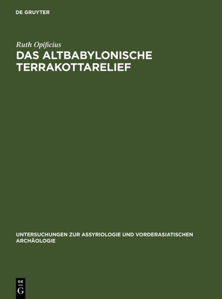 Das Altbabylonische Terrakottarelief - Coverbild