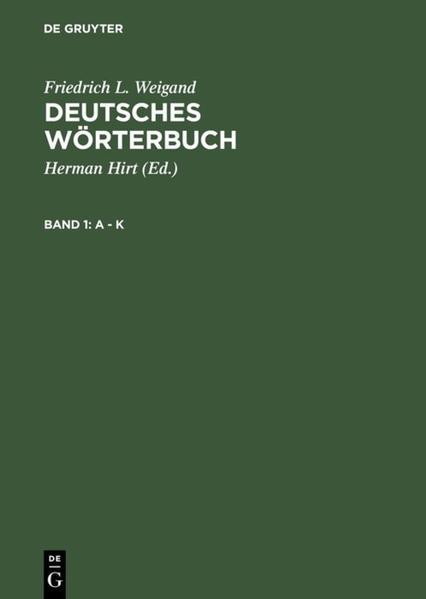 Deutsches Wörterbuch - Coverbild