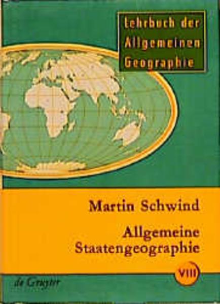 Lehrbuch der Allgemeinen Geographie / Allgemeine Staatengeographie - Coverbild
