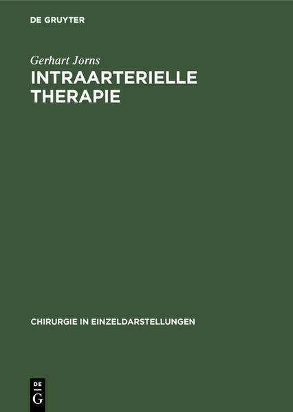 Intraarterielle Therapie - Coverbild