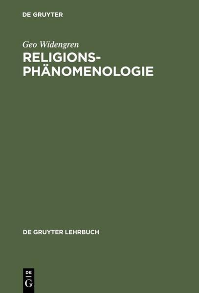 Religionsphänomenologie - Coverbild