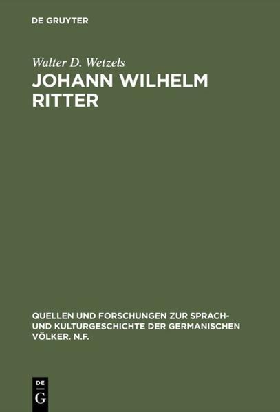 Johann Wilhelm Ritter - Coverbild