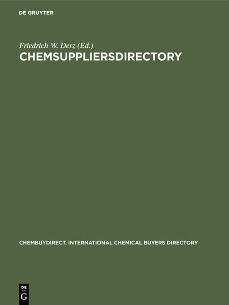 ChemSUPPLIERSdirectory - Coverbild
