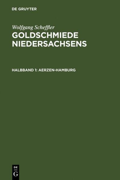 Goldschmiede Niedersachsens - Coverbild
