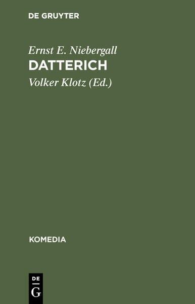 Datterich - Coverbild