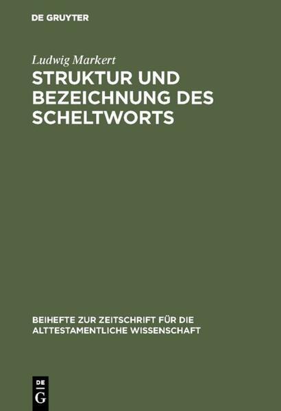 Struktur und Bezeichnung des Scheltworts - Coverbild