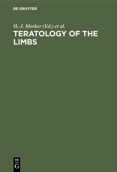 MERKER/NEUBERT:TERATOLOGY OFTHE LIMBS - Coverbild