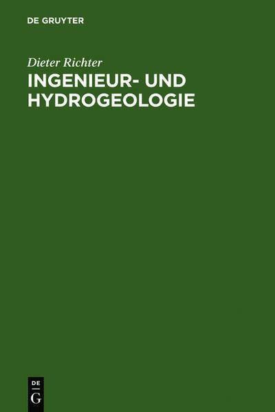 Ingenieur- und Hydrogeologie - Coverbild
