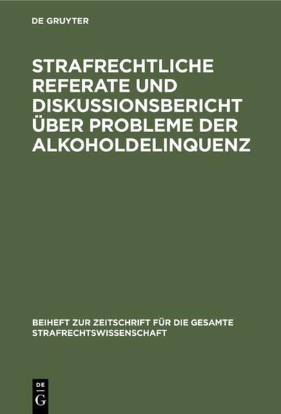 Beiträge zum VI. Deutsch-jugoslawischen Juristentreffen in Köln 1980 - Coverbild