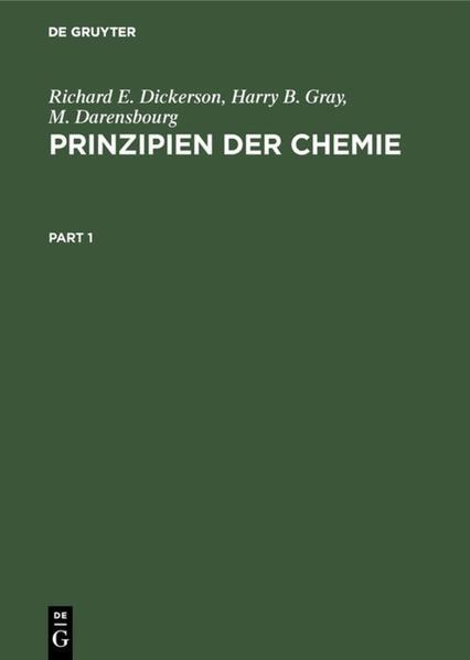 Prinzipien der Chemie - Coverbild