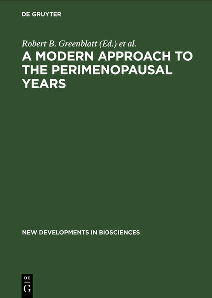 A Modern Approach to the Perimenopausal Years - Coverbild