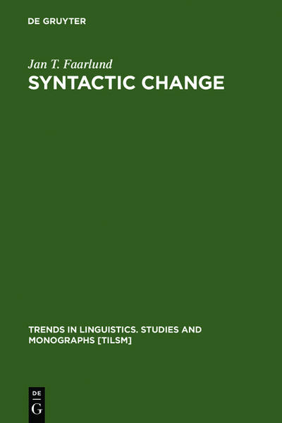 Syntactic Change - Coverbild