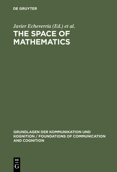 The Space of Mathematics - Coverbild