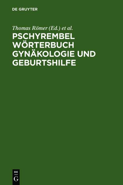 Pschyrembel Wörterbuch Gynäkologie und Geburtshilfe - Coverbild
