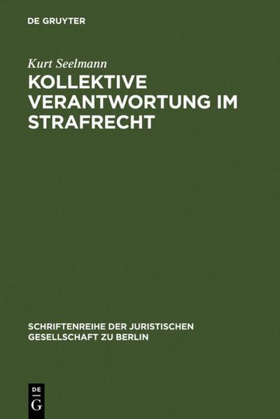 Kollektive Verantwortung im Strafrecht - Coverbild
