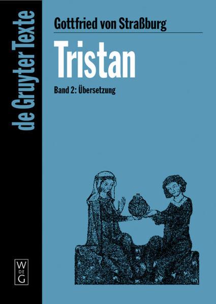 Gottfried von Straßburg: Tristan / Übersetzung - Coverbild