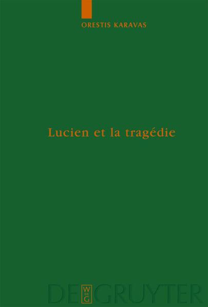 Lucien et la tragédie - Coverbild