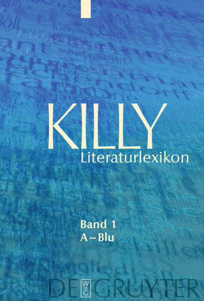 Killy Literaturlexikon / A – Blu - Coverbild