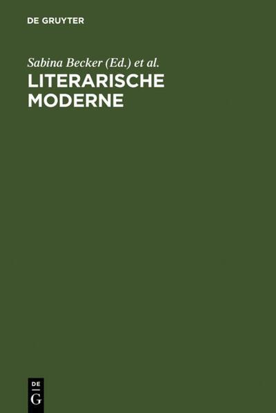 Literarische Moderne - Coverbild