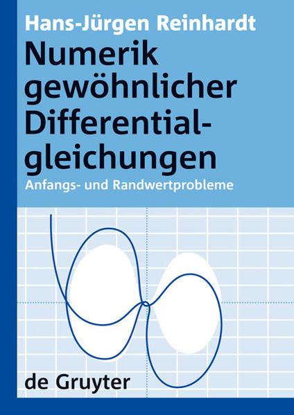 Numerik gewöhnlicher Differentialgleichungen - Coverbild