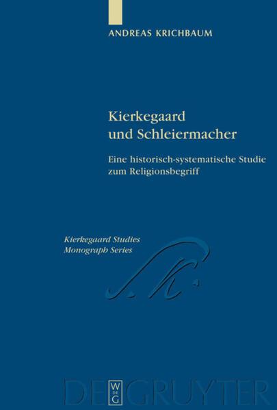 Kierkegaard und Schleiermacher - Coverbild