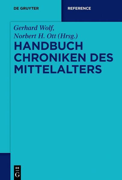 Handbuch Chroniken des Mittelalters - Coverbild