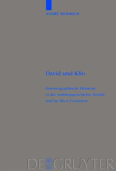 David und Klio - Coverbild