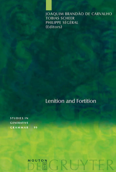 Lenition and Fortition - Coverbild