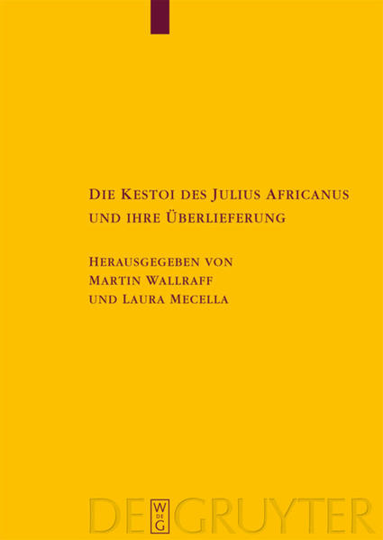 Die Kestoi des Julius Africanus und ihre Überlieferung - Coverbild