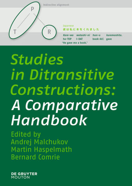 Studies in Ditransitive Constructions - Coverbild