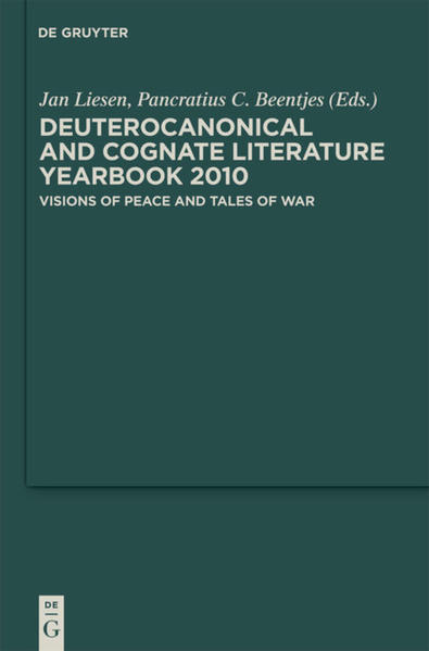 Deuterocanonical and Cognate Literature: Yearbook / Visions of Peace and Tales of War - Coverbild