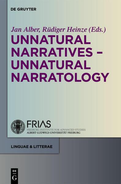 Unnatural Narratives - Unnatural Narratology - Coverbild