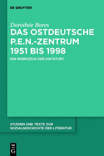Das ostdeutsche P.E.N.-Zentrum 1951 bis 1998 Laden Sie PDF-Ebooks Herunter