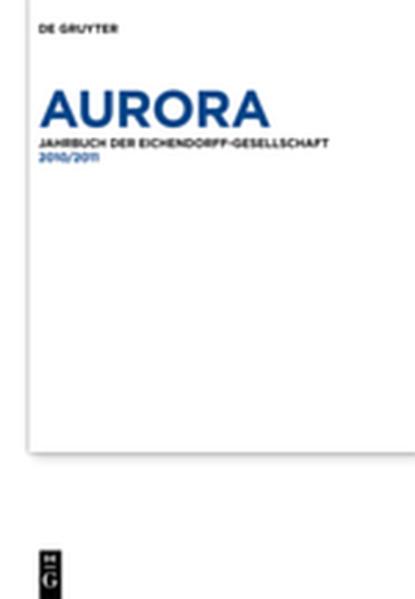 Aurora / 2010 - 2011 - Coverbild