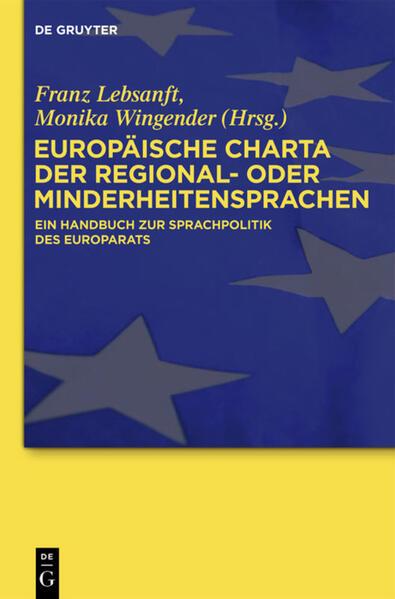 Europäische Charta der Regional- oder Minderheitensprachen - Coverbild