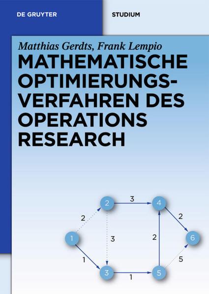 Mathematische Optimierungsverfahren des Operations Research - Coverbild