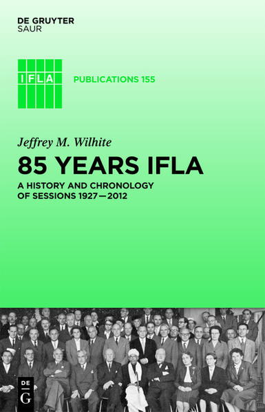 85 Years IFLA - Coverbild