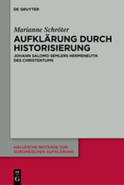 Aufklärung durch Historisierung - Coverbild