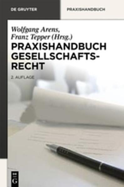 Praxishandbuch Gesellschaftsrecht - Coverbild