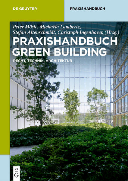 Praxishandbuch Green Building - Coverbild