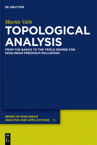 Topological Analysis - Coverbild