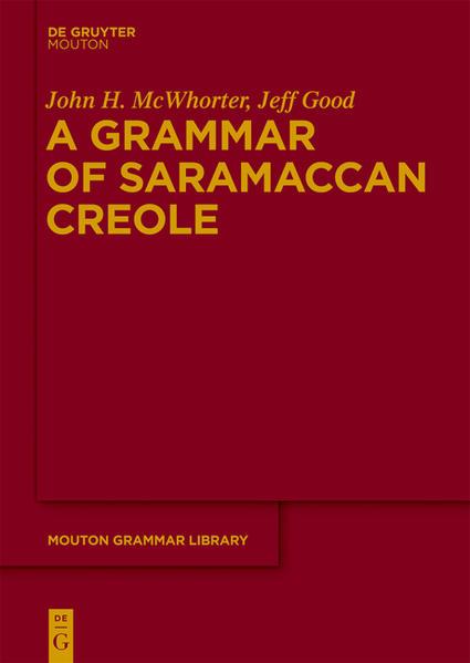 A Grammar of Saramaccan Creole - Coverbild