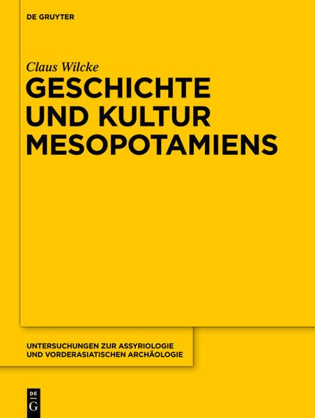 Geschichte und Kultur Mesopotamiens - Coverbild