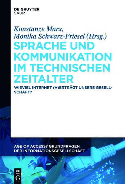 Sprache und Kommunikation im technischen Zeitalter - Coverbild