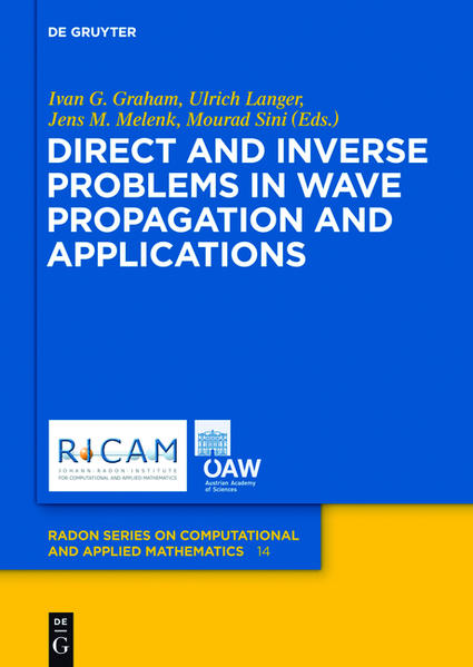 Direct and Inverse Problems in Wave Propagation and Applications - Coverbild