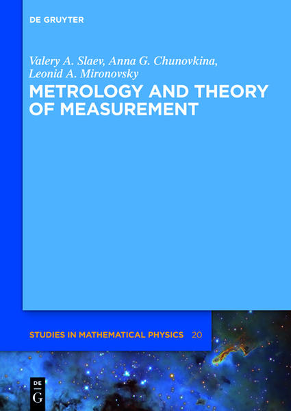 Metrology and Theory of Measurement - Coverbild