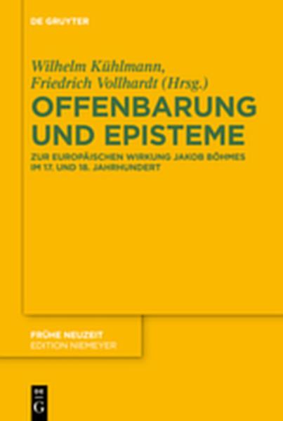 Offenbarung und Episteme - Coverbild
