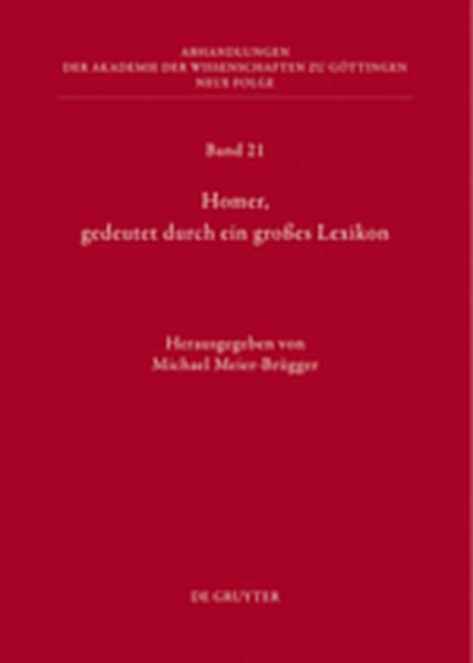 Homer, gedeutet durch ein großes Lexikon - Coverbild