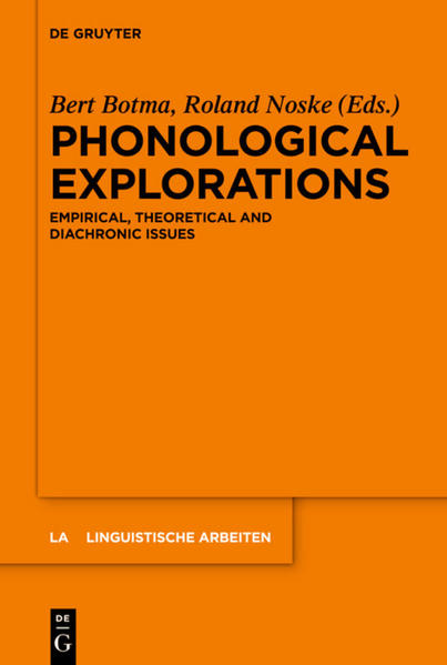 Phonological Explorations - Coverbild