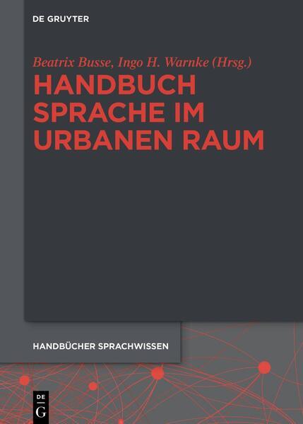 Handbuch Sprache im urbanen Raum - Coverbild